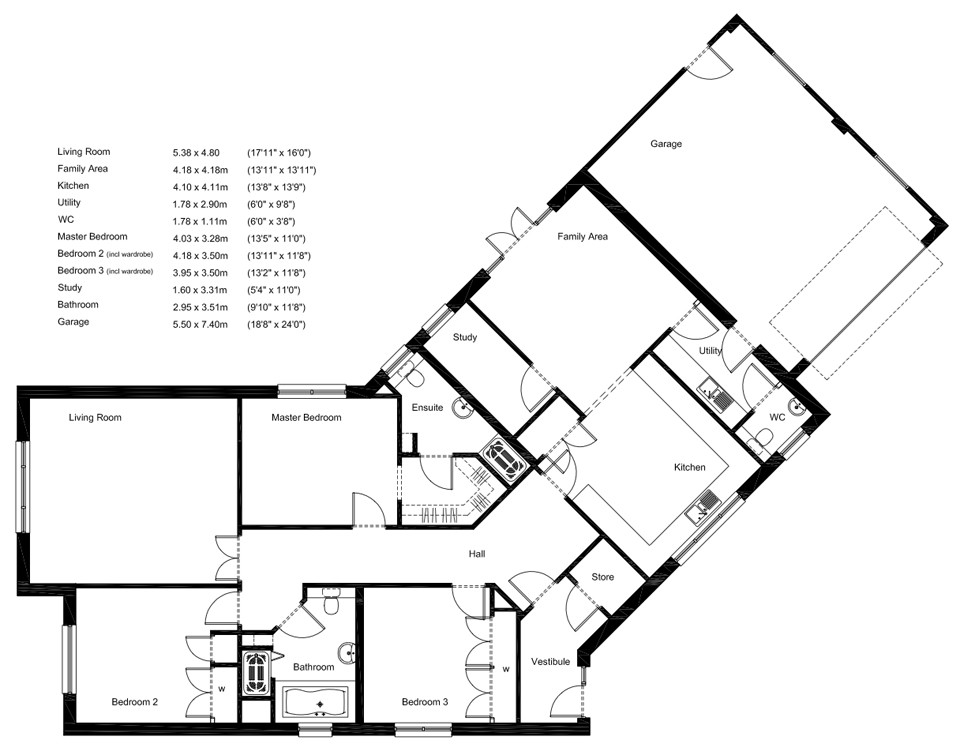 960x744 Modern Bungalow House Plans Uk Inspirational Small Bungalow House