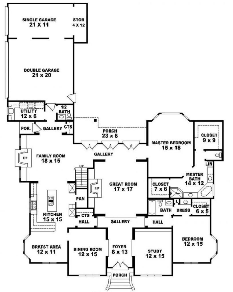 Bungalow Elevation Drawing At Getdrawings Com Free For Personal