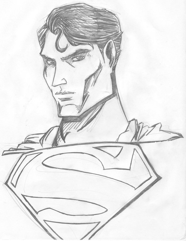 600x779 Superman Bust By Superprongs