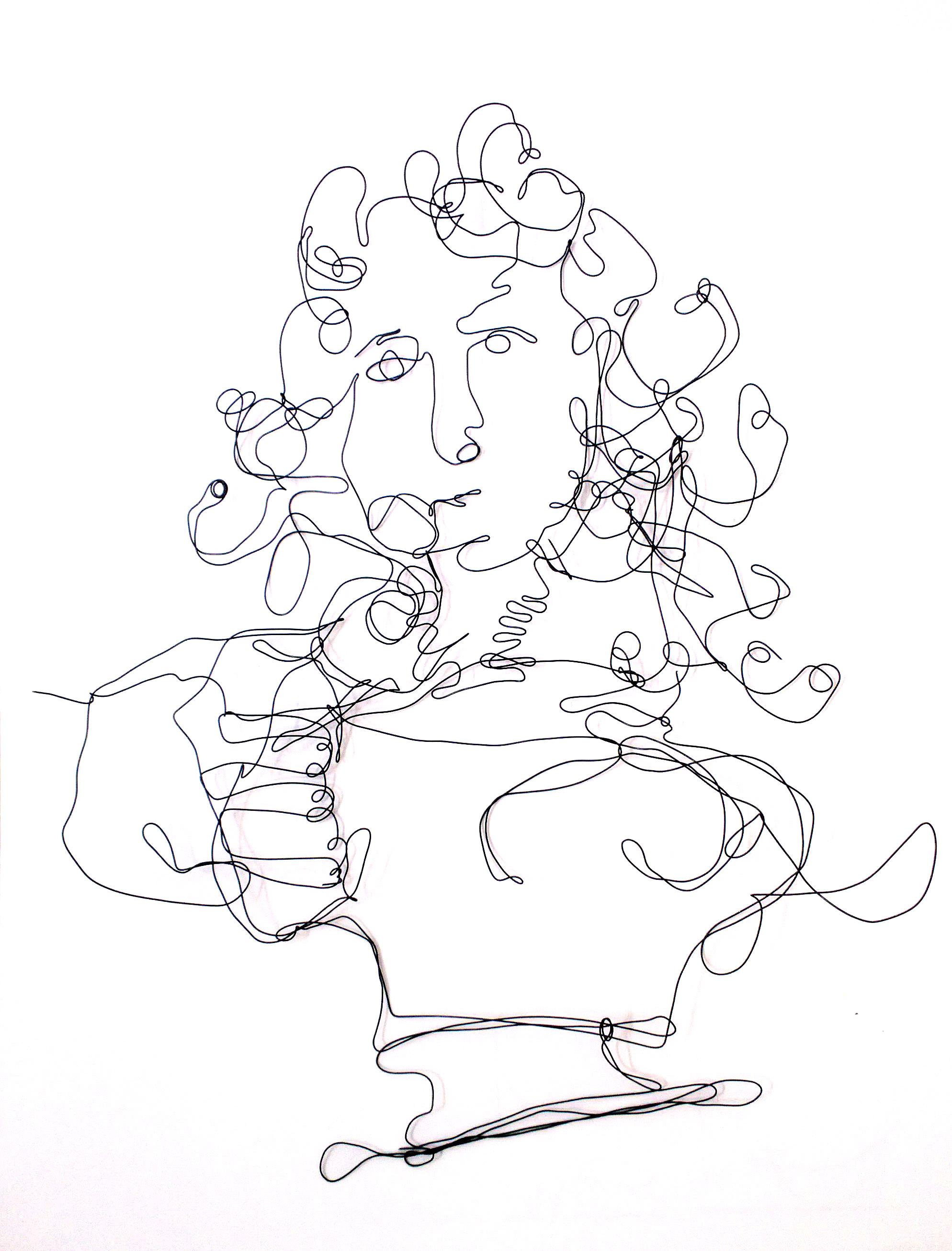 1988x2612 Agnes Jones Wire Drawings