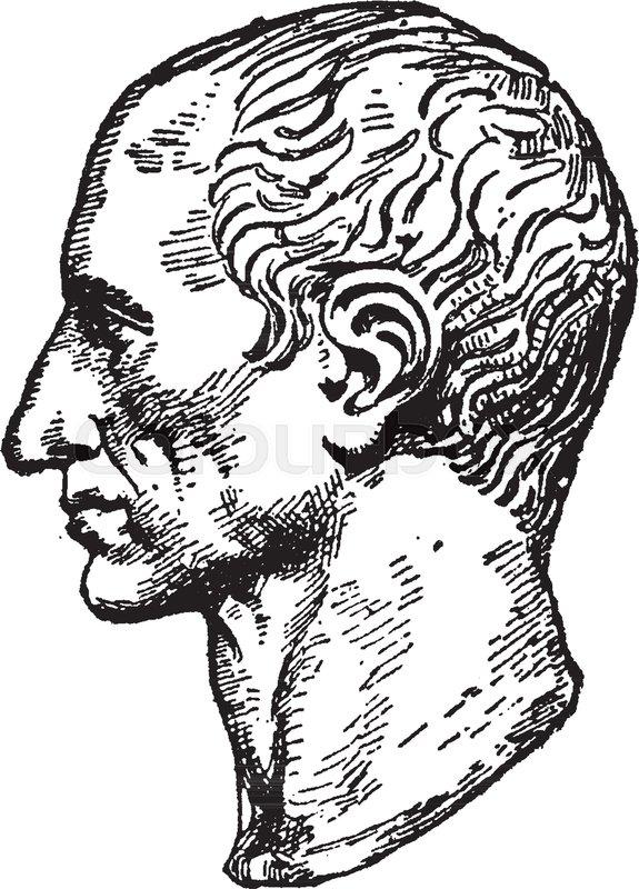 575x800 Bust Of Julius Caesar, 100 Bc 44 Bc, He Was A Roman Politician
