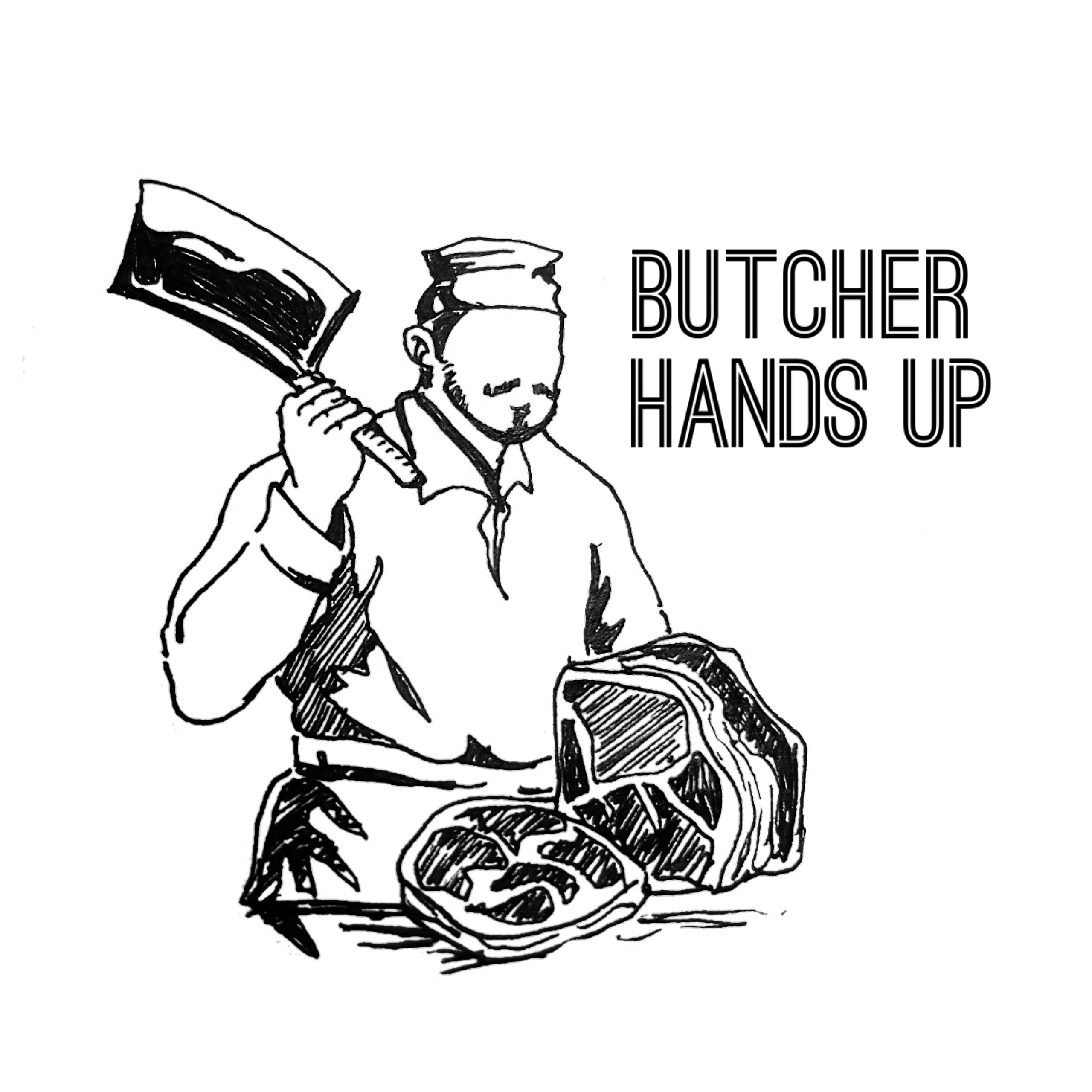 butcher drawing at getdrawings com