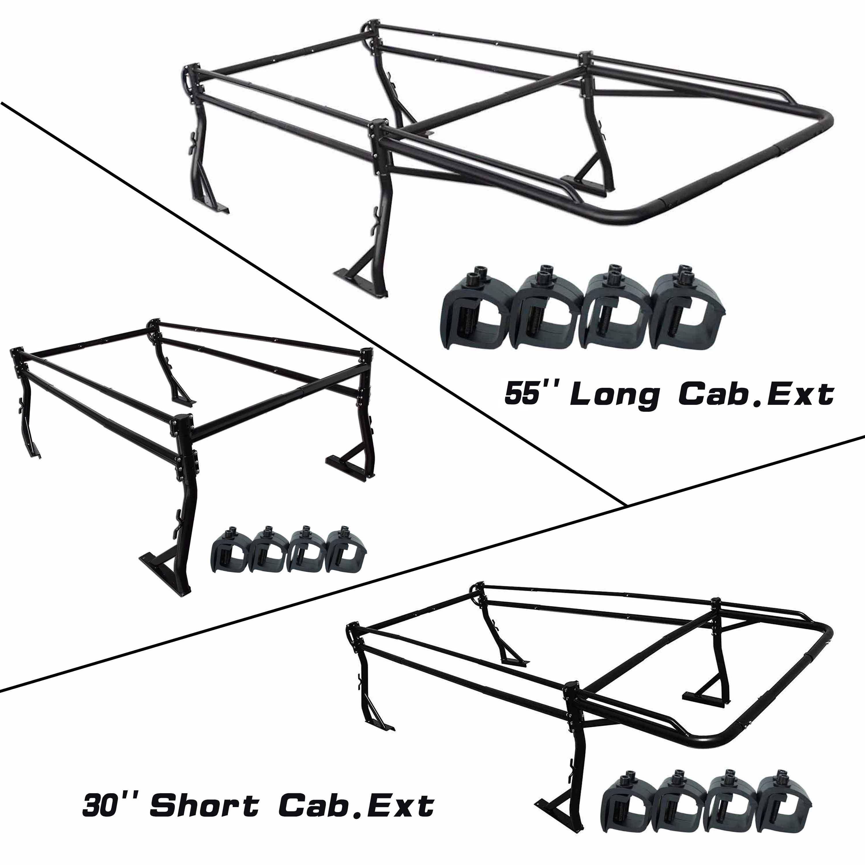 3000x3000 Aa Racks Model X39 8clamp Short Bed Truck Ladder Rack Side Bar
