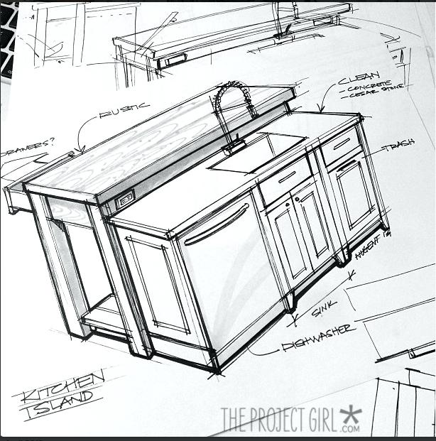 Cabinet Drawing At Getdrawings Com