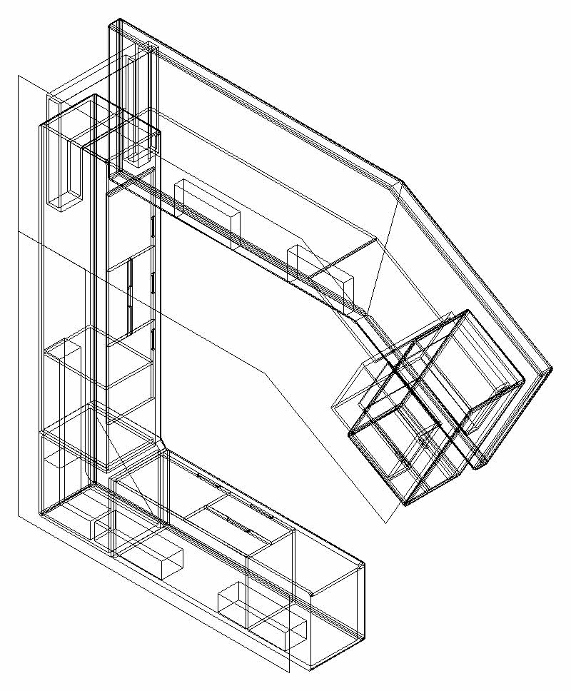 800x968 Luxury C Word Taiwan Cabinet Cad 3d Drawings, Autocad Drawing