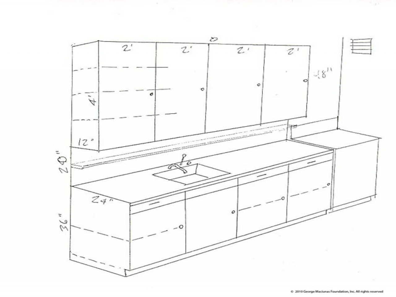 1280x960 75 Most Special Kitchen Cabinets Dimensions Drawings Standard