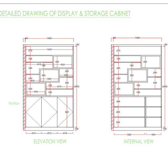 639x639 15 Beautiful Kitchen Cabinet Section Drawing