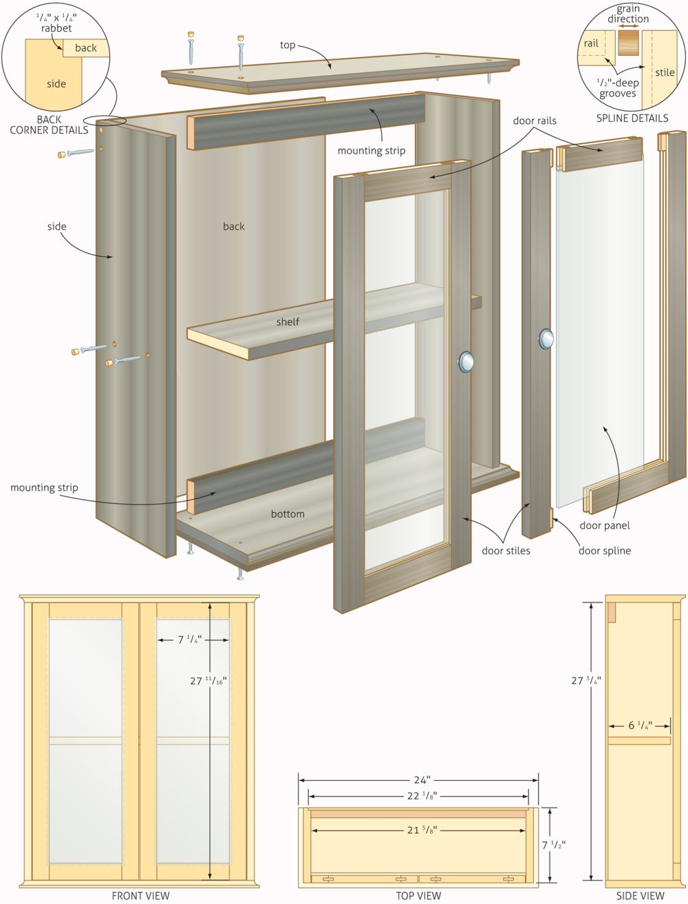 1000x1313 Free Woodworking Plans Bathroom Cabinets Quick Woodworking