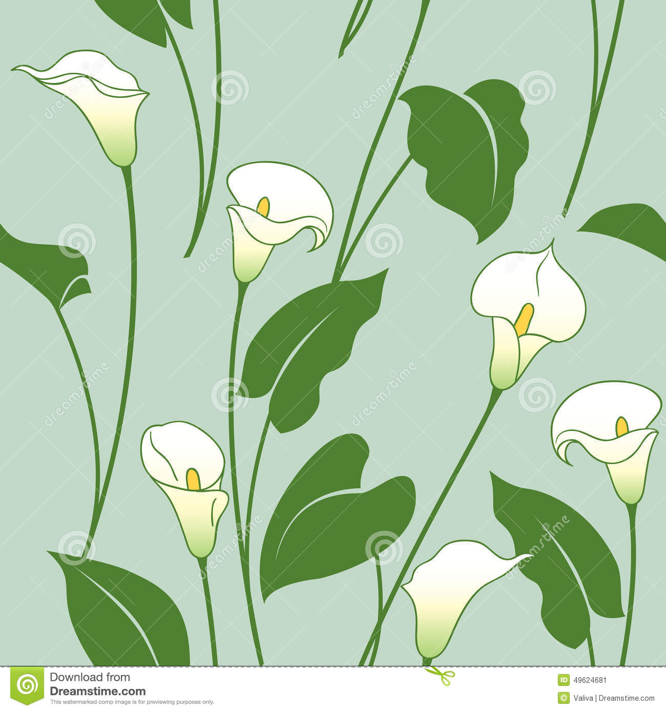 1300x1390 Collection Of Calla Lily Drawing Pattern High Quality, Free