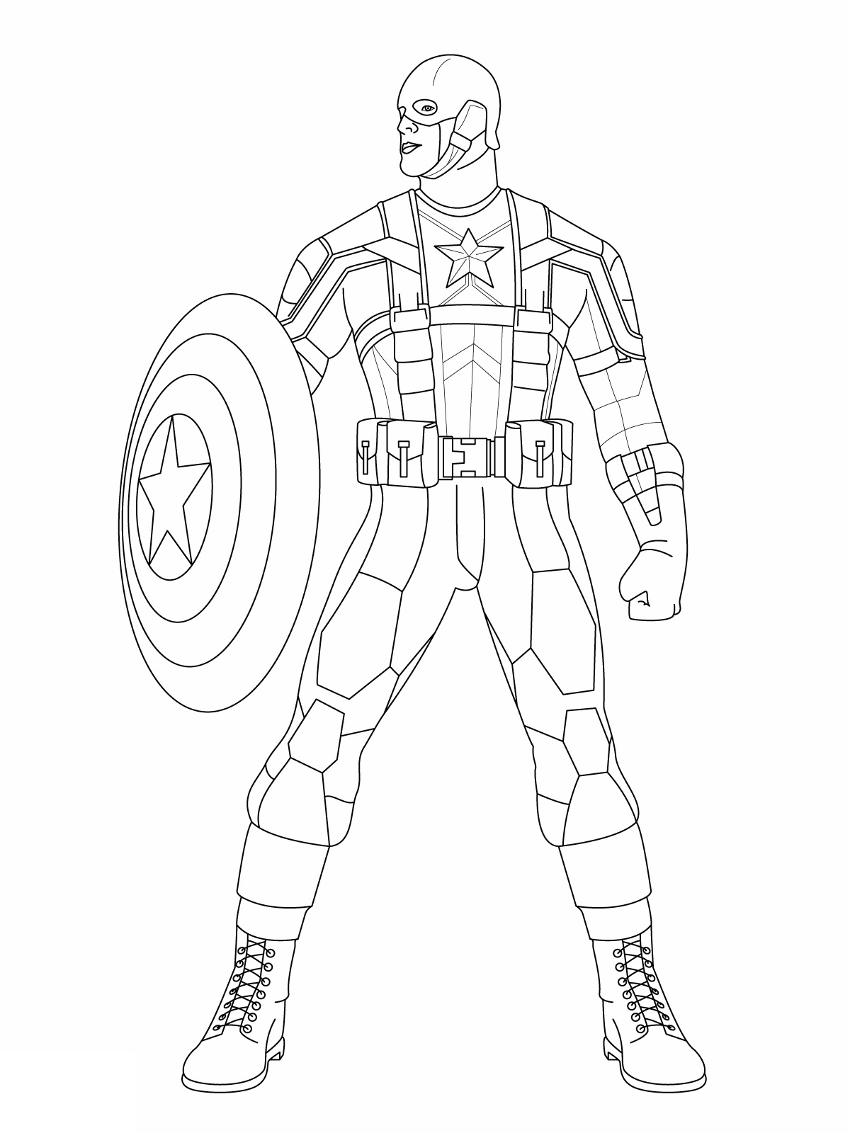 Captain America The First Avenger Drawing
