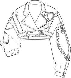 236x258 Summer Parka Technical Drawing Summer, Drawings