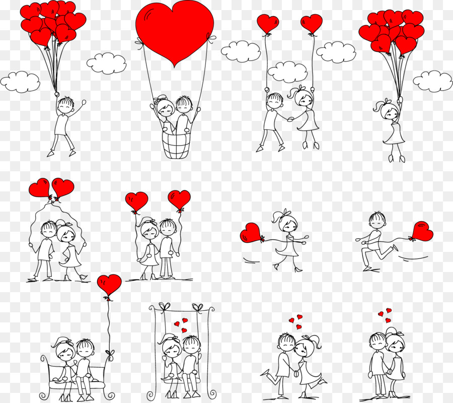 900x800 Drawing Romance Love Stick Figure