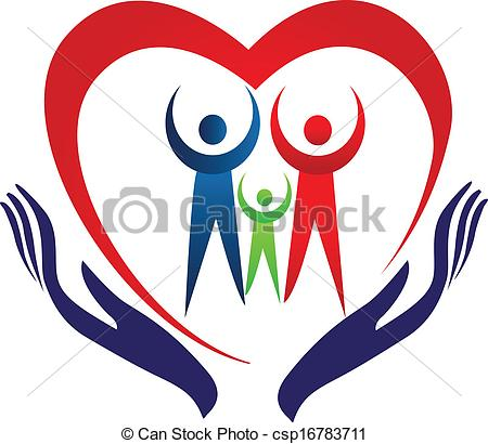 450x410 Family Care Hands And Heart Logo Hands Care Family Heart Logo
