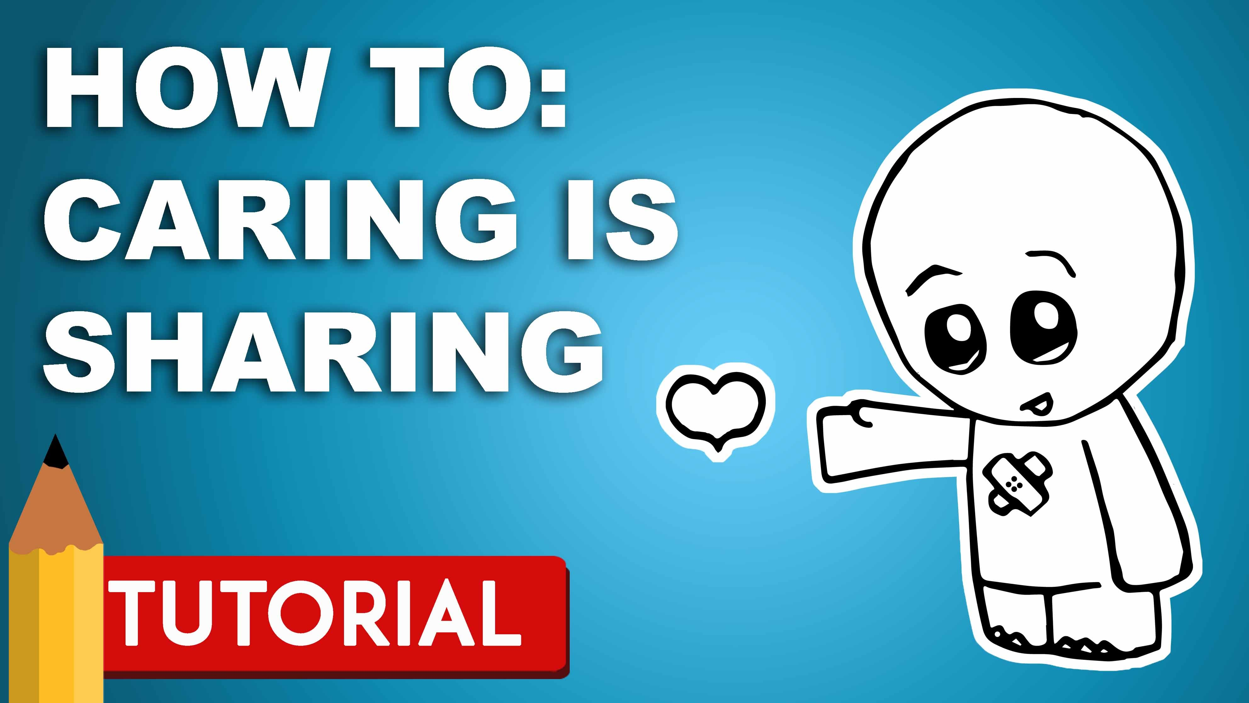 3968x2232 Sharing Is Caring Drawing Tutorial