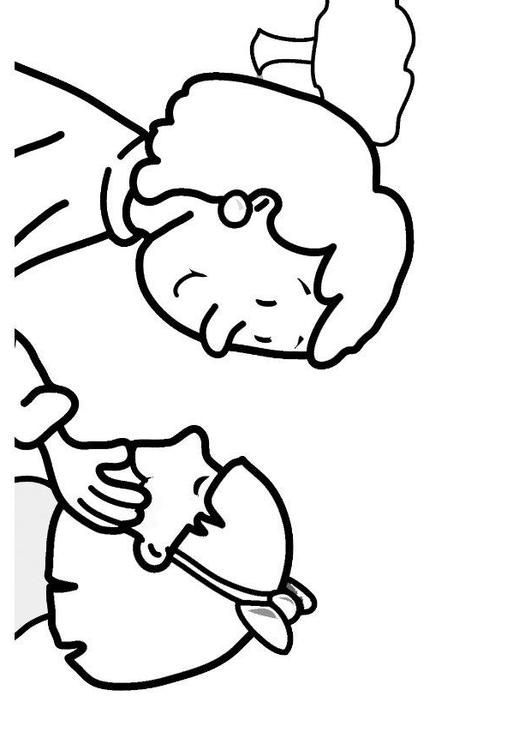 531x750 Coloring Page Caring For Others