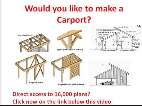 480x360 Carport Plans Drawings From A Carport Click Here Carport Plans