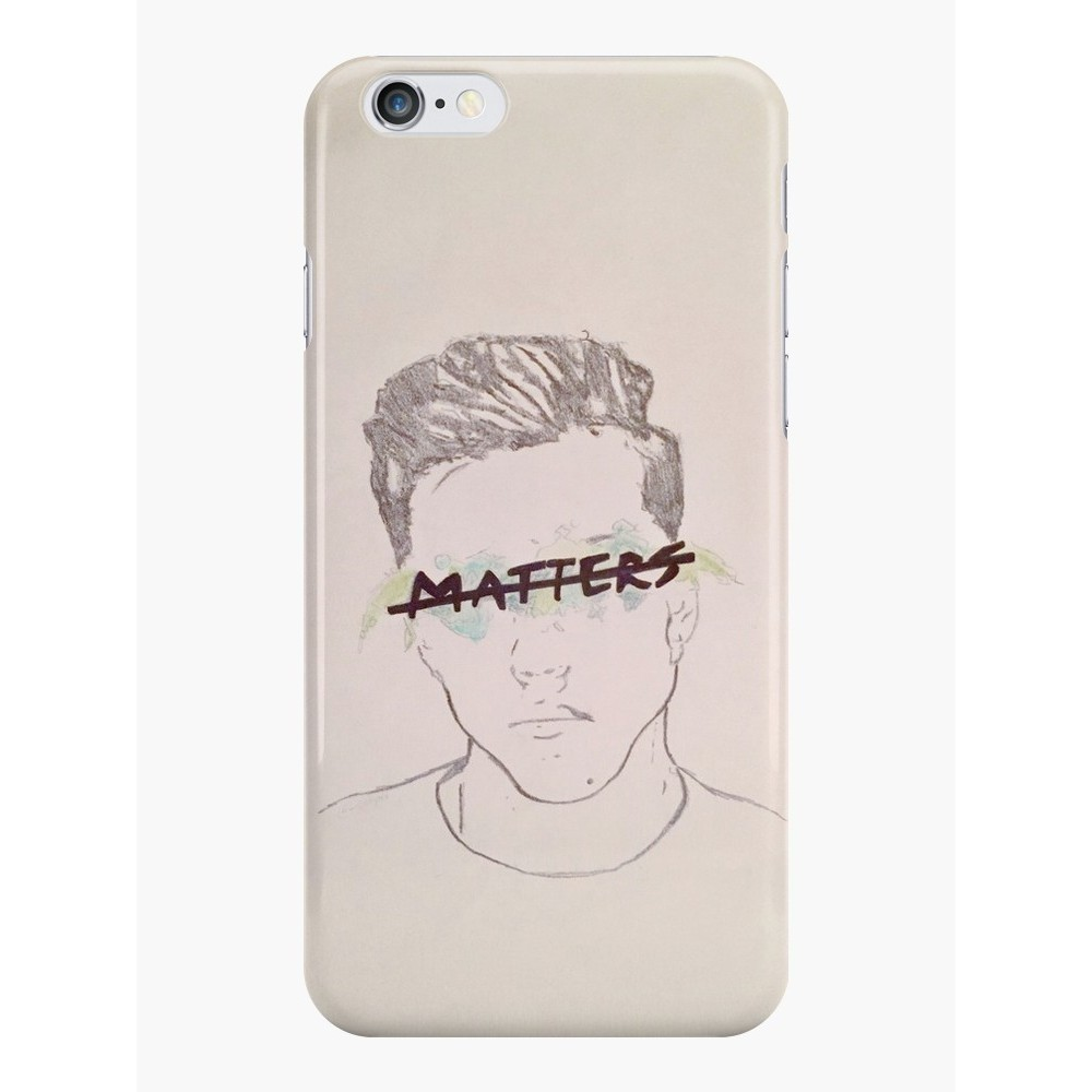 1000x1000 Nothing Matters Grayson Dolan Drawing Phone Case