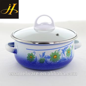 350x350 Enamel Pot Milk Pot Coffee Pot Kitchen Cookware Porcelain Clad