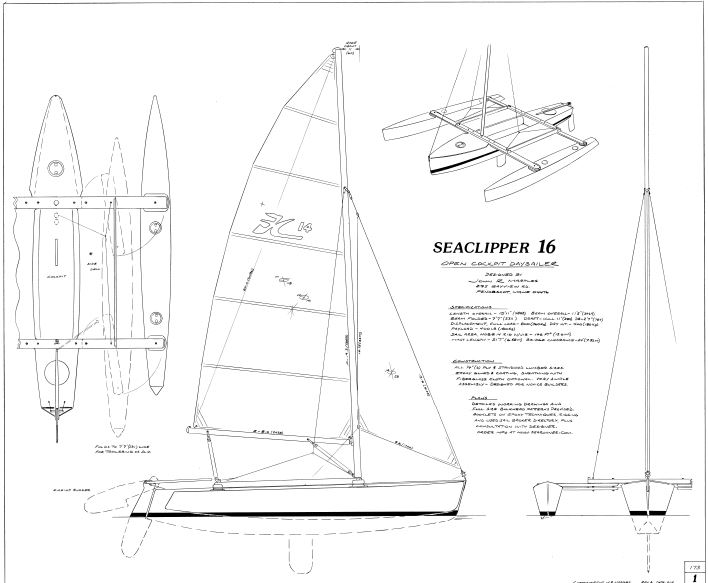 708x583 Search Results For Free Boat Plan Small Trimarans