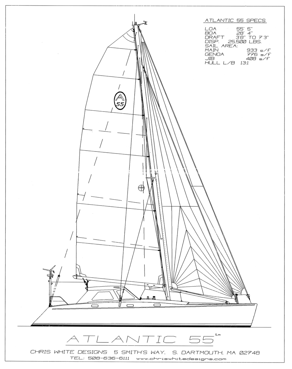 1000x1264 Specifications Segue Sailing Adventures