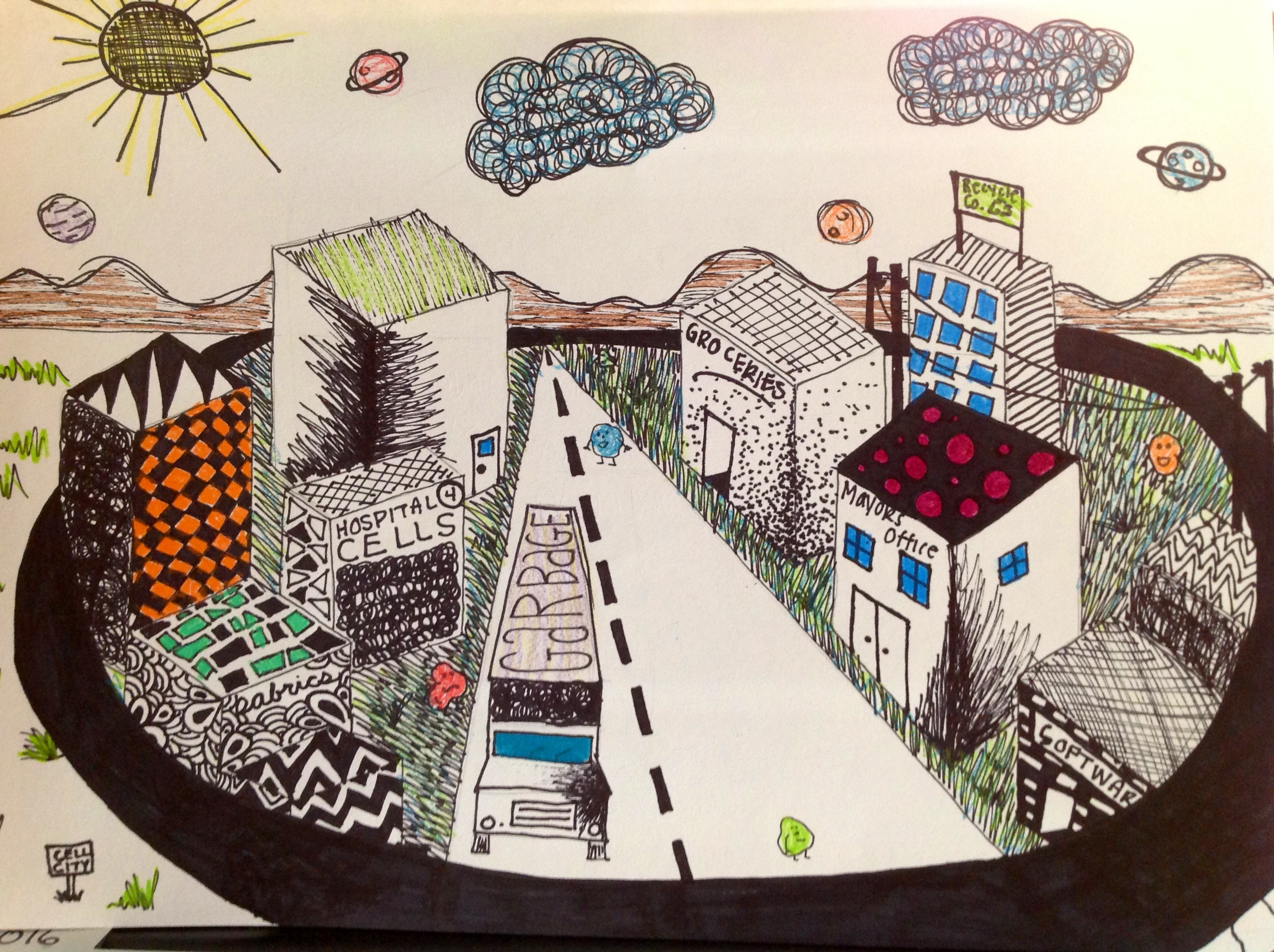 2592x1936 Annikah's Cell City Art Spilling