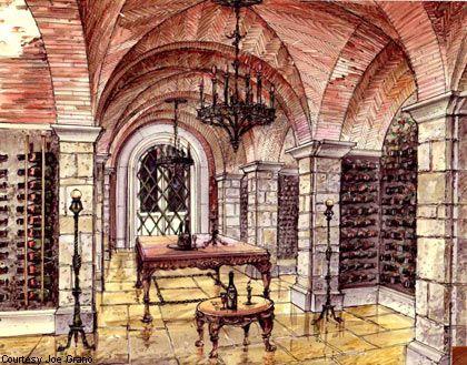 420x329 Grano's Gold Mine Wine Cellars, Architecture Design And Interiors