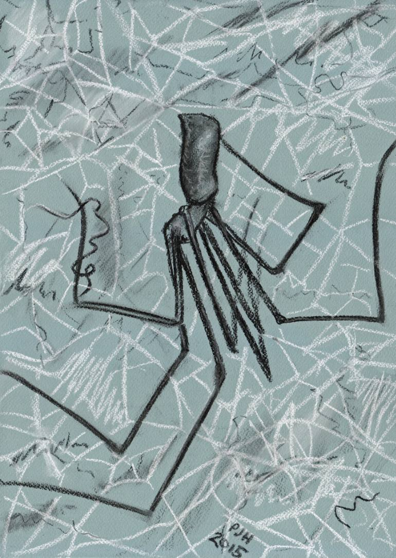 770x1086 Saatchi Art Cellar Spider Study Drawing By Philip Harvey