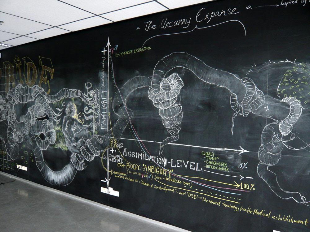 1000x750 Wall Drawing Wandzeichnung