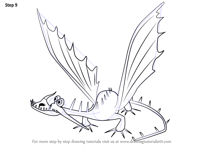 844x598 Learn How Draw Changewing From How Train Your Dragon (How