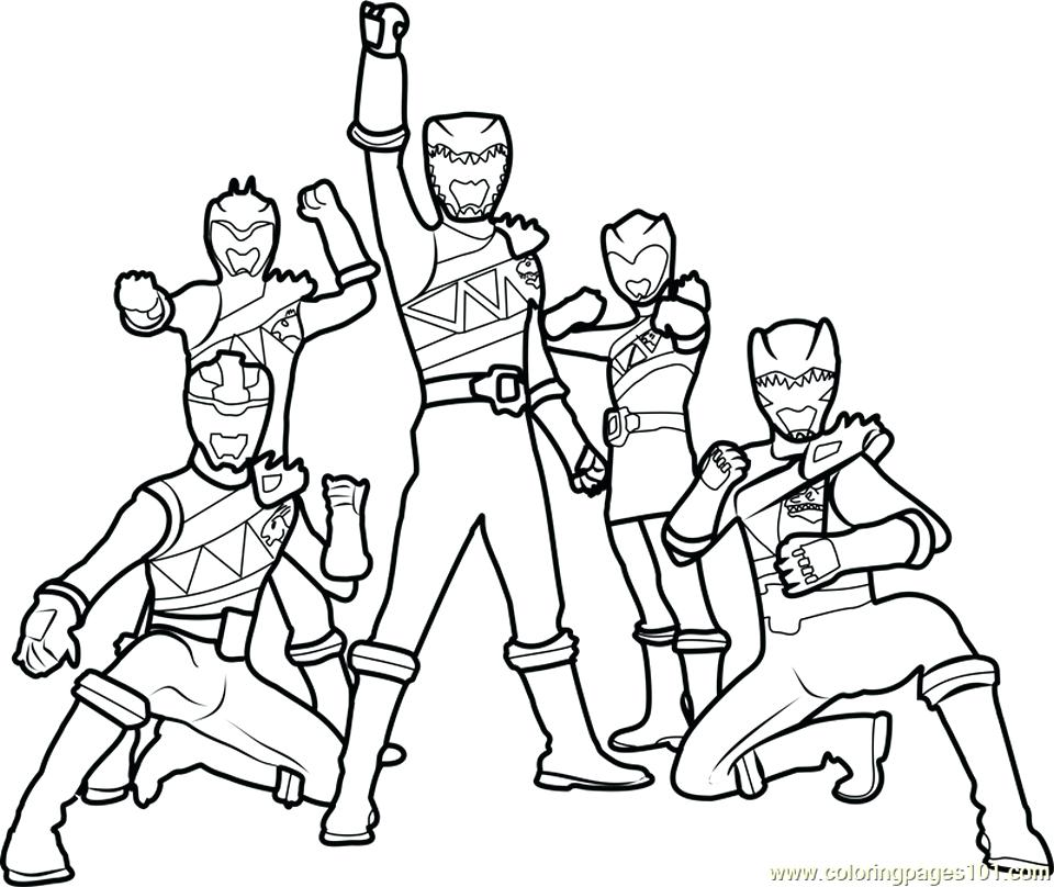 960x808 Power Ranger Coloring Page Get This Power Ranger Dino