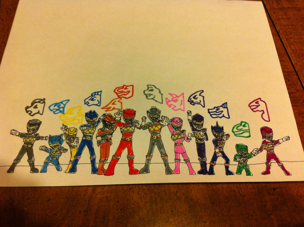 1024x765 Power Rangers Dino Charge By Hotjohnimus