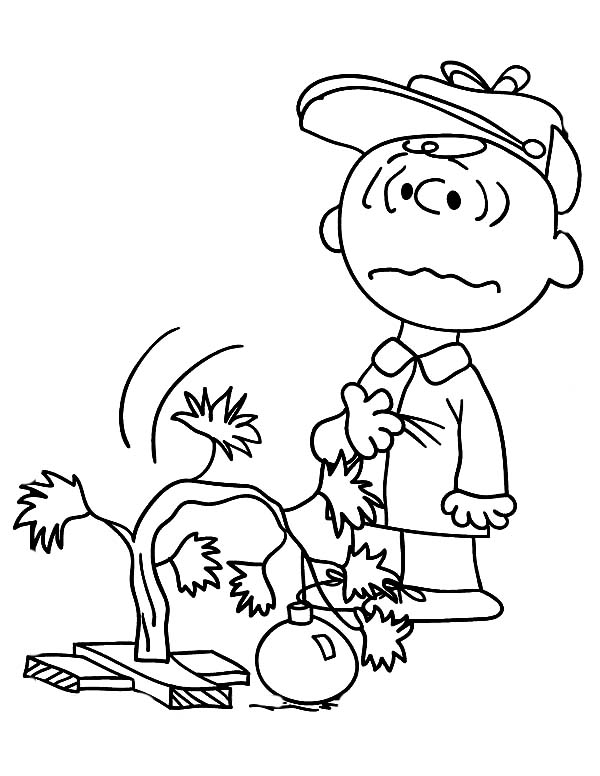 Charlie Brown Christmas Tree Drawing.Charlie Brown Christmas Painting At Paintingvalley Com