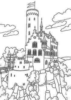 236x331 How To Draw A Castle For Kids Once Upon A Time Words And Music