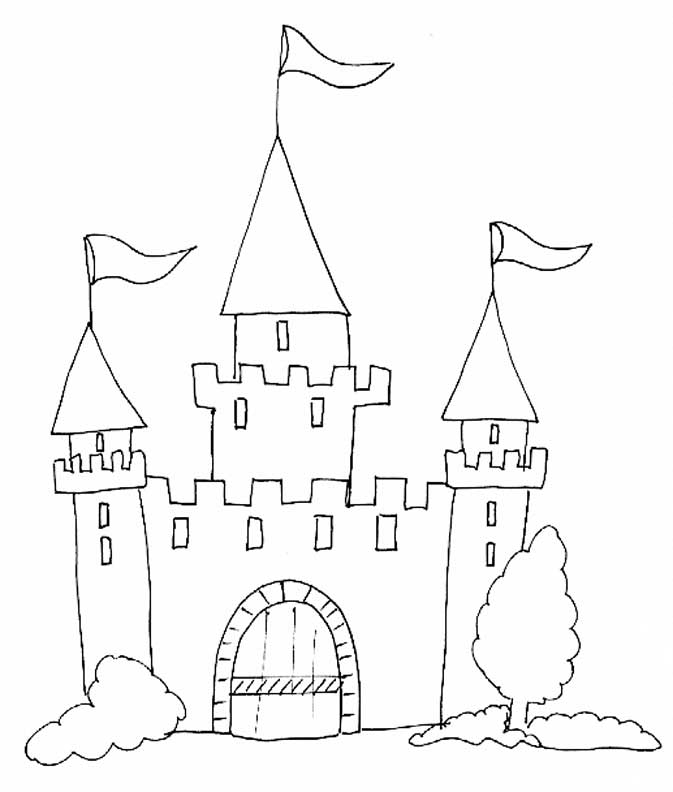 Coloriage Chateau Disney A Imprimer.Chateau Drawing At Getdrawings Com Free For Personal Use