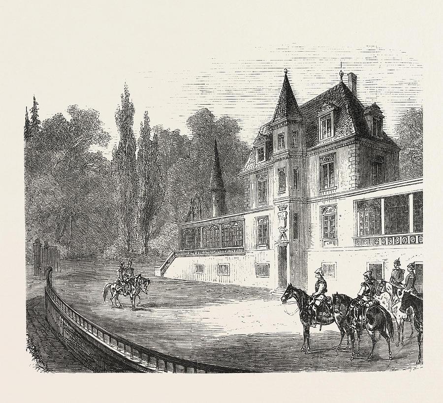 900x820 Franco Prussian War The Chateau De Bellevue Near Sedan 1870