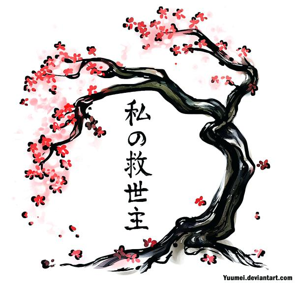 600x576 Cherry Blossom Tree Drawing In Addition To Cherry Blossom Tree