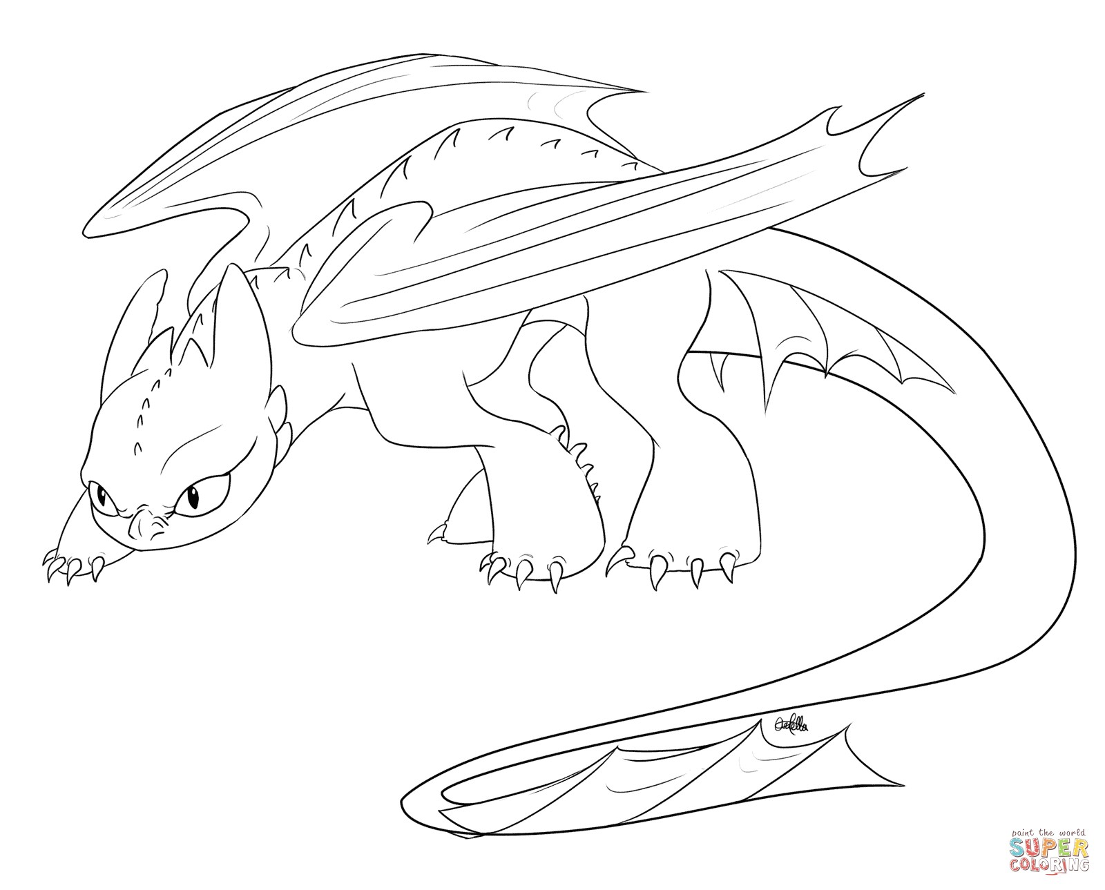 1600x1289 Toothless Coloring Pages Elegant Dragon Drawing Template Choice
