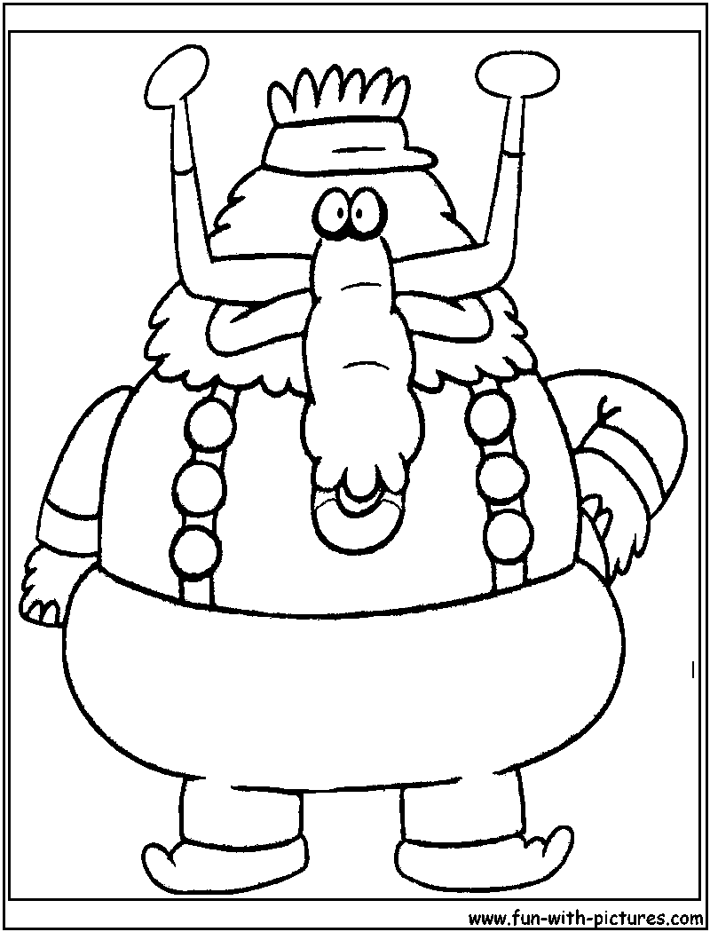 800x1050 Latest Chowder Coloring Pages To Print Page
