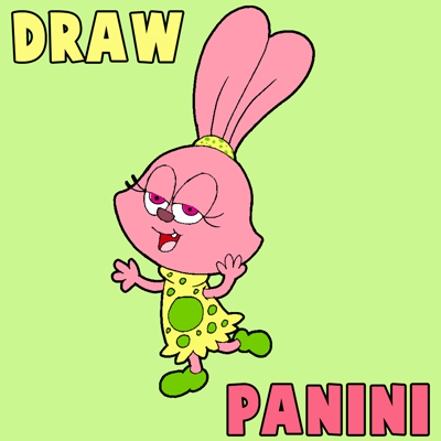 400x400 How To Draw Panini From Chowder With Simple Step By Step Drawing