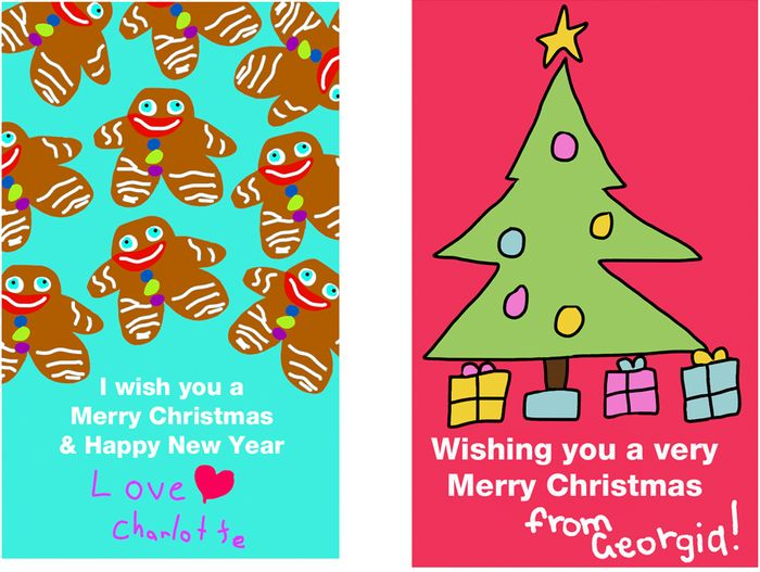 Ideas For Christmas Cards For Children.Christmas Card Drawing Ideas For Kids At Getdrawings Com