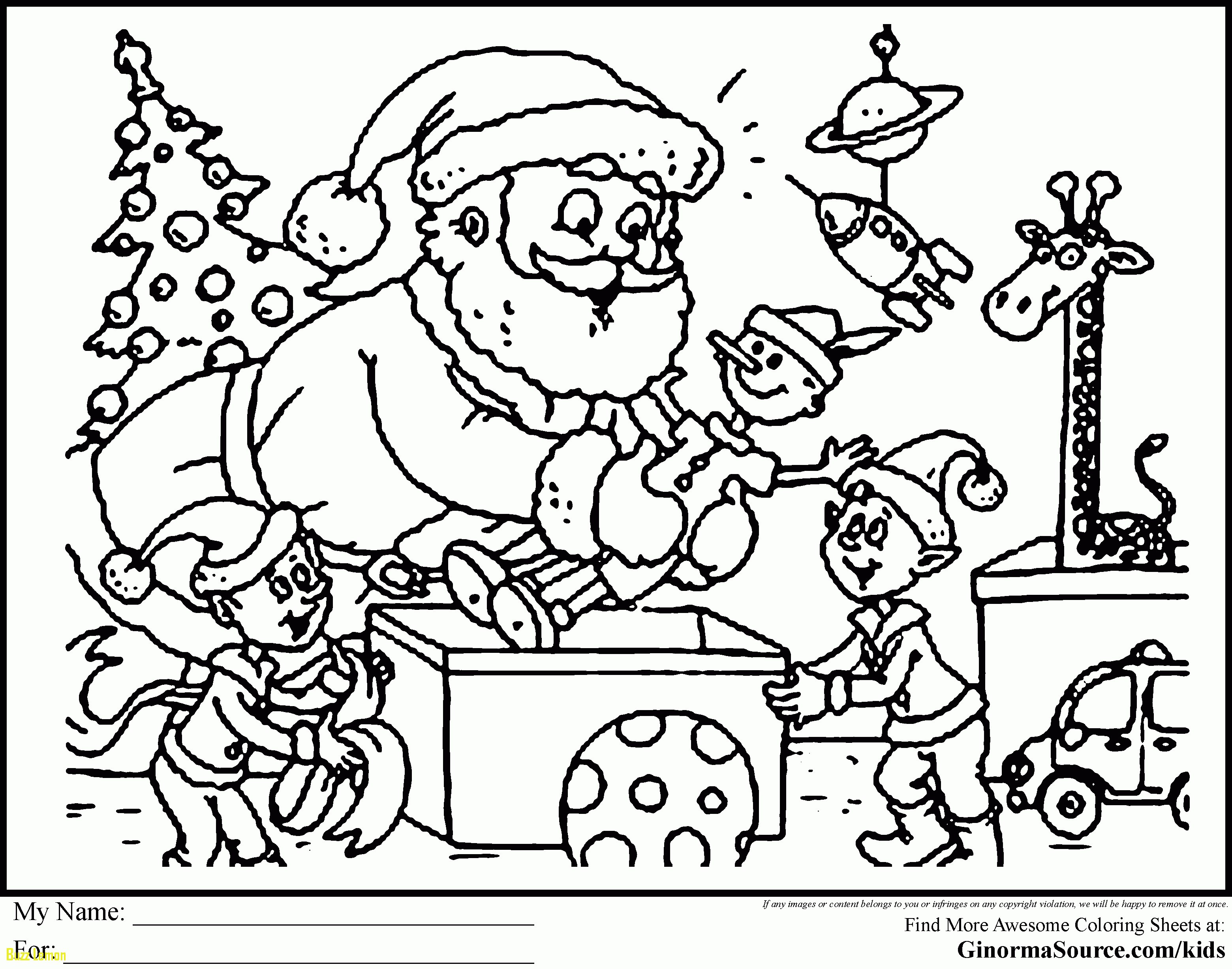 3120x2455 Coloring Pages Christmas Scene New Free Printable To Color Kids