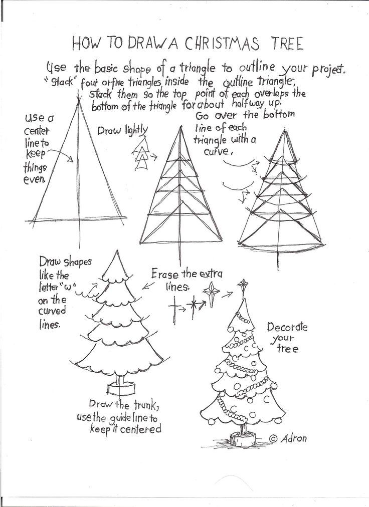 736x1012 43 Unique Gallery Of Easy Christmas Drawings Drawing Ideas