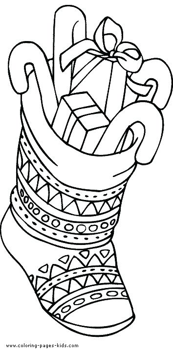 354x722 Christmas Scene Coloring Pages Colouring Images Merry Colouring