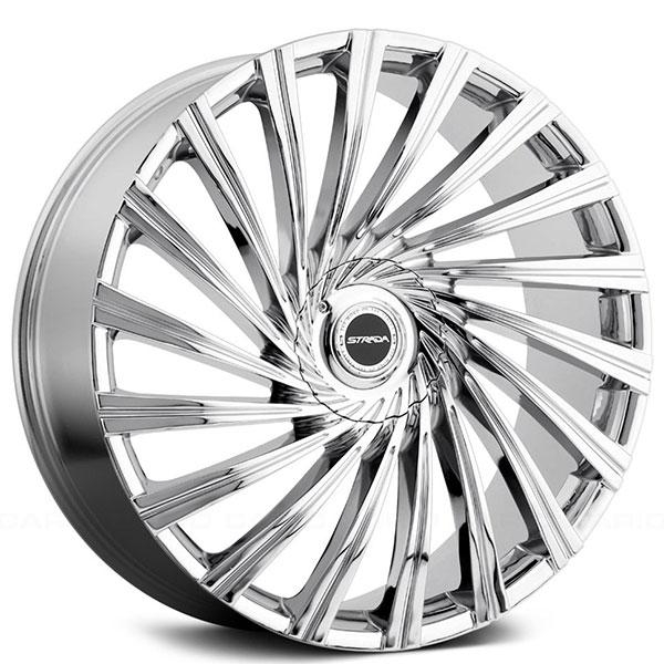 600x600 26 Strada Wheels Tornado Chrome Rims