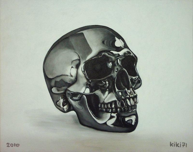 800x632 Chrome Skull By Kiki71