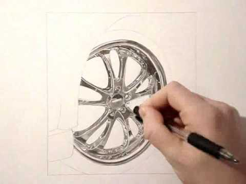 480x360 Chrome Rim Drawing Tutorial