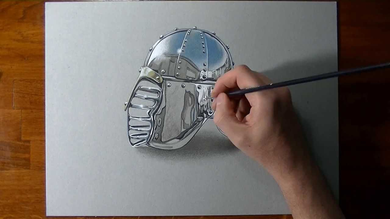 1280x720 How To Draw A Chrome Surface