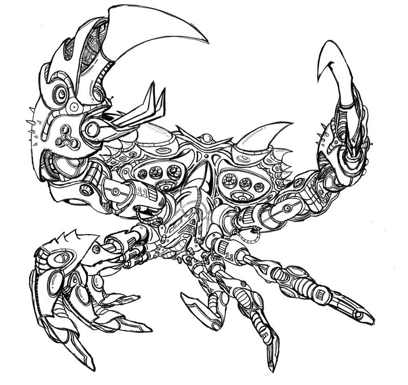 800x756 Chrome Crab