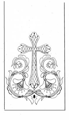 236x408 Free Church Embroidery Pattern Ihs With Grapes Amp Wheat
