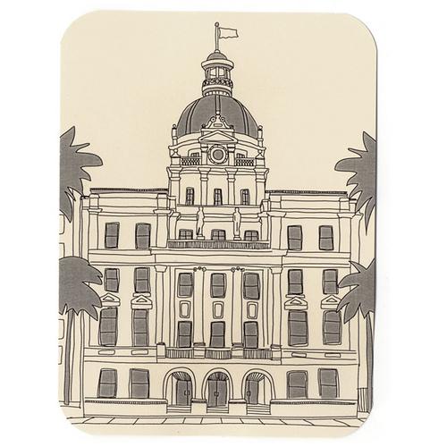 500x500 Savannah City Hall Drawing Savannah City Hall Tim Degner